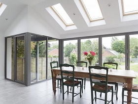 Installers of aluminium bifolding doors