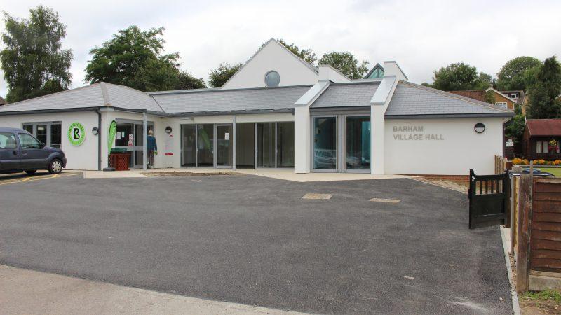 Barham village hall