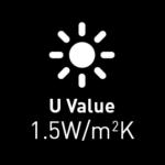 1.5 u value